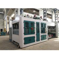 China Food Packaging Paper Pulp Tableware Making Machine Trimming Free Dry In Mold wholesale