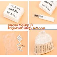 Individually Packed Waste Bags, Single Folded bag, individual packed bag, individually fold bags, waste bags, clinicial