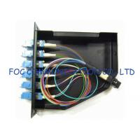 China LAN MPO and LC Adapters Fiber Optic Patch Panel High return loss MPO Cassettes wholesale