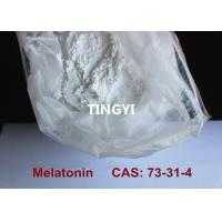 China CAS: 73-31-4 Safest Pharmaceutical Raw Materials Melatonin Powder Improving Sleep / Preventing Aging wholesale