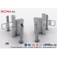 China Semi - Automatic Swing Barrier Gate Card Readers for Door Entry Pass System wholesale