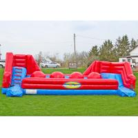 China Outdoor Event Inflatable Ball Game , Bounce House Amusement Center on sale