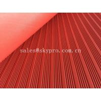 China Industrial rubber flooring mat with assorted colors and textures wholesale