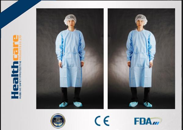 Quality SMS Disposable Surgical Gowns Medical Garments For Surgery Operating S-5XL for sale