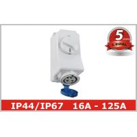 China 220V 380V Electrical Socket Outlets with Industrial Switch Interlock wholesale
