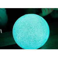 Buy cheap LED lighting decorative USB Rechargeable 3D Printing Earth ball with Touch Sensor from wholesalers
