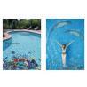 China LAR025 Swimming pool mosaic pattern chip size 20*20mm wholesale
