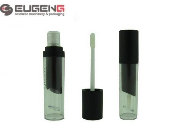 Quality Cylinder Two Layers Empty Lip Gloss Tubes With Brush 22 mm Diameter for sale