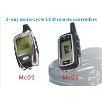 China 2- way Car Alarm Remotes Controller Of Motorcycle Alarm With LCD Remote Controllers wholesale