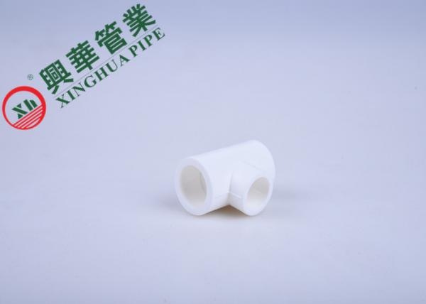 Quality Lightweight PPR unEqual Tee PPR REDUCER , Ppr Pipe Fittings Heat Welder Installation for sale