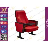 China Chinese Carst Iron Meeting Room Seating / Lecture Hall Chairs With Speaker wholesale