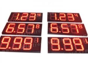 China 8'' 10'' 12'' 16'' 20'' Inch Led Gas Price Sign Aluminium Frame / Iron Cabinet wholesale