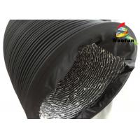 China Eco - Friendly Fire Rated Flexible Ducting , Aluminum Foil PVC Air Duct wholesale