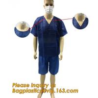 China Children Patient Gown/Surgical Gown With Short Sleeve,  Disposable Nonwoven Surgical Gown For Medical/Hospital nurse doc on sale