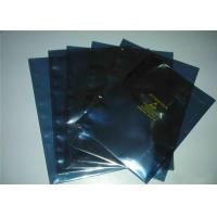 China Moisture Proof ESD Shielding Bags , Vacuum Anti Static Pouch With Ziplock wholesale