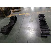 China 300mm Width Continuous Agricultural Rubber Tracks For Rice Cutting Machine wholesale