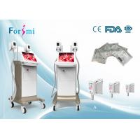 China CE approved 4 treatment handles cryo slimming cool tech fat quick freezing machine wholesale