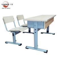 Buy cheap Excellent quality   wood color school student  table simple  training center  school  furniture /Gaungzhou furniture from wholesalers