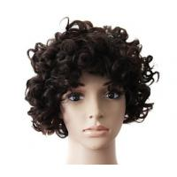 China Mixed Color 100% Peruvian Glueless Full Lace Human Hair Wig With Combs / Straps wholesale