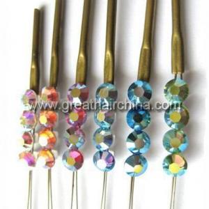 China Swarovski Crystal Hair extension wholesale