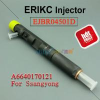 China Ssangyong diesel fuel injection pump EJBR04501D high pressure injector R04501D,Diesel  Injector 4501D delphi 6640170121 wholesale