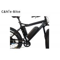 China Lithium Battery Powered Off Road Fat Tire Electric Mountain Bikes With TFT Display wholesale