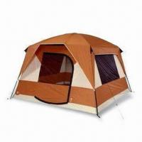 China Popup Beach Tent with 2 Doors and Windows, Color Coded Webbing wholesale