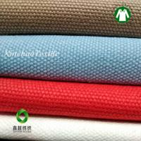 China GOTS certified  eco Oganic cotton canvas16oz fabric for shoes bags wholesale