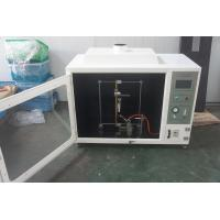China UL Standard Flammability Test Apparatus For Cable / Wire 220V AC10A wholesale