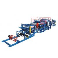 China EPS Sandwich Panel Production Line PU / Foam Coated For Different Colors wholesale