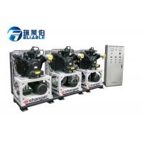 China 580 Kg Industrial Air Compressor 10 Micron Precision Independent Valve Seat on sale