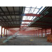 Pre Engineered 70'X150' Clearspan Light Industrial Steel  Housing Construction A36 H Type Beams