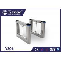 China High security pedestrian swing barrier turnstile for Office building turnstiles wholesale