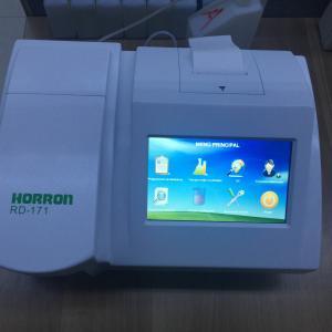 China Logiciel semi automatique d'Espagnol d'analyseur de biochimie d'écran d'ecran couleur wholesale