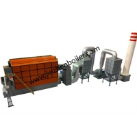 China 6 Ton DZL Series Coal Fired Steam Boiler For Veneer Plywood Processing Plant wholesale