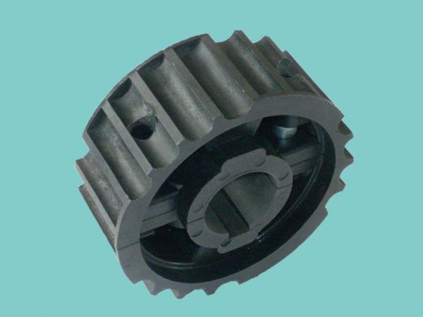 Quality SS812 Steel chain sprockets moulded drive wheels black PA6 sprockets nylon materials for sale
