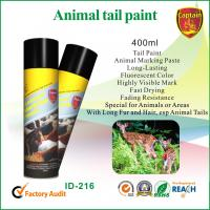 China Peinture écologique d'inscription d'aérosol, peintures animales d'inscription pour le porc/moutons/bétail wholesale