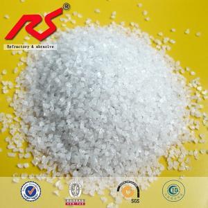 China Corundum White Fused Aluminium Oxide Fused White Alumina Refractories Materials on sale