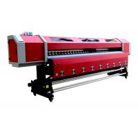 China Outdoor 3.2M Double Heads Eco-solvent Printing Machine For PP , Vinyl , Canvas wholesale