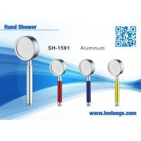 China Aluminum Alloy Metal Rain Replacement Shower Head With Handheld on sale