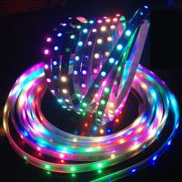 Buy cheap Dreamful color DC5v Ws2812B LED Strip , epistar chip rgb LED pixels for night club from wholesalers