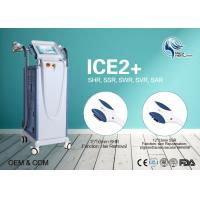 China Beauty Salon 10Hz Fast Hair Removal SHR Hair Removal CE Approved With 2 Handpieces wholesale