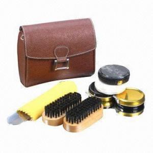 China Shoe care kit, made of PU wholesale