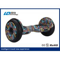 China Portable Bluetooth Hoverboard Off Road Wheels 10 Inch 3 Hours Charging Time wholesale