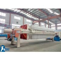China 80m2 Industrial Filter Press Automatic Controlled For Printing & Dyeing Wastewater wholesale