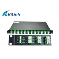 China Optics 40 Channel DWDM Mux Demux AAWG Modules 100Ghz C21-C60 For Data Center on sale