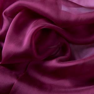 China 2015 New Style Dahlia Purple 140cm Width Chiffon Silk Fabric Bulk Sale wholesale