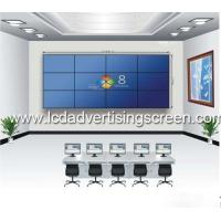 China Floor Stand  55 Inch Video Wall 5x5 Controller 3.5mm Gap For Shopping Mall on sale