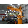 China Telescopic Adjusting Boom Hydraulic Deck Crane Easy Maintance Long Service Life wholesale