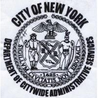 China Embroidery digitization City of New york WBG100111 on sale